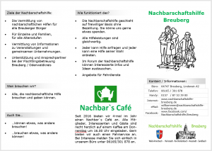 NHB Flyer v11 Screenshot Vorderseite