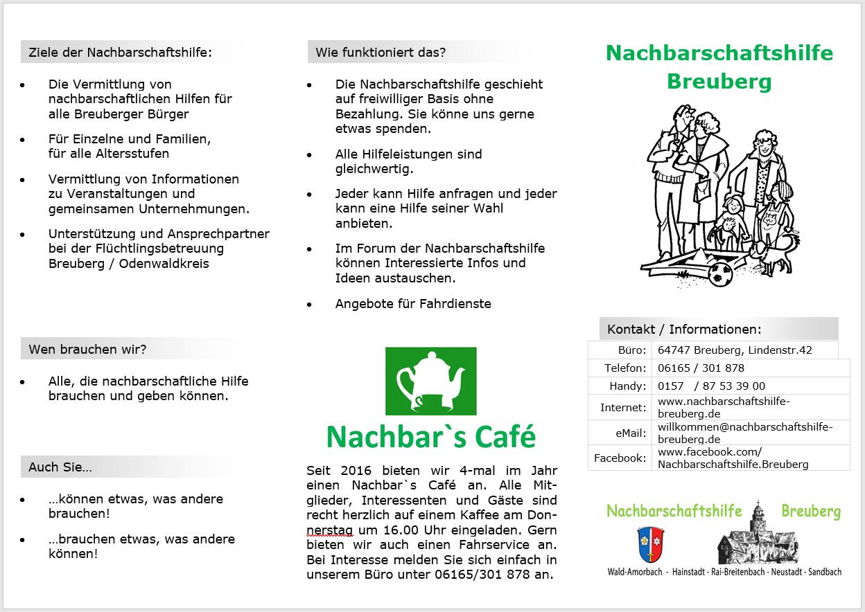 NHB Flyer v11 Screenshot Vorderseite