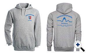 Sweatshirt Vereinkleidung NHB für Werbunsgzwecke klein