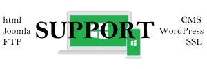 Bieten Unterstützung bei Webseitenprobleme