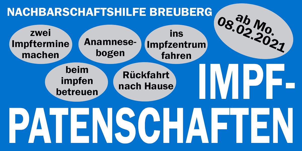 Impfpatenschaften der Nachbarschaftshilfe Breuberg