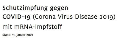 Anamnesebogen zum Schautzimpfung gegen COVID-19